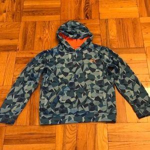 Boys Puma Hooded Sweatshirt